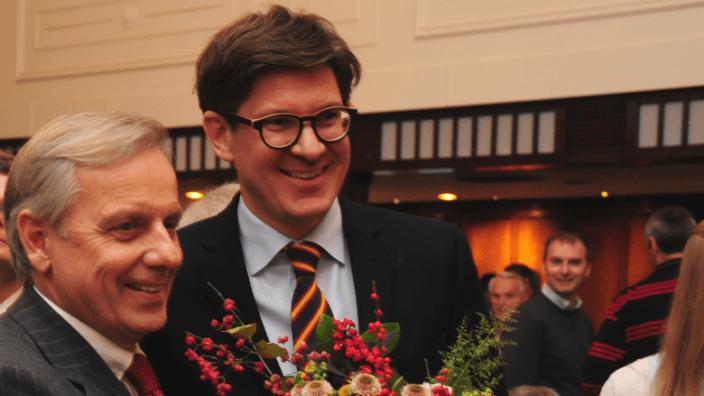 Dr. Michael von Abercron mit Dr. Ole Schröder