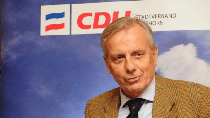 Dr. Michael von Abercron bei der CDU Elmshorn